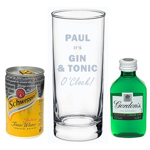 Gin Amp Tonic O Clock Gift Set
