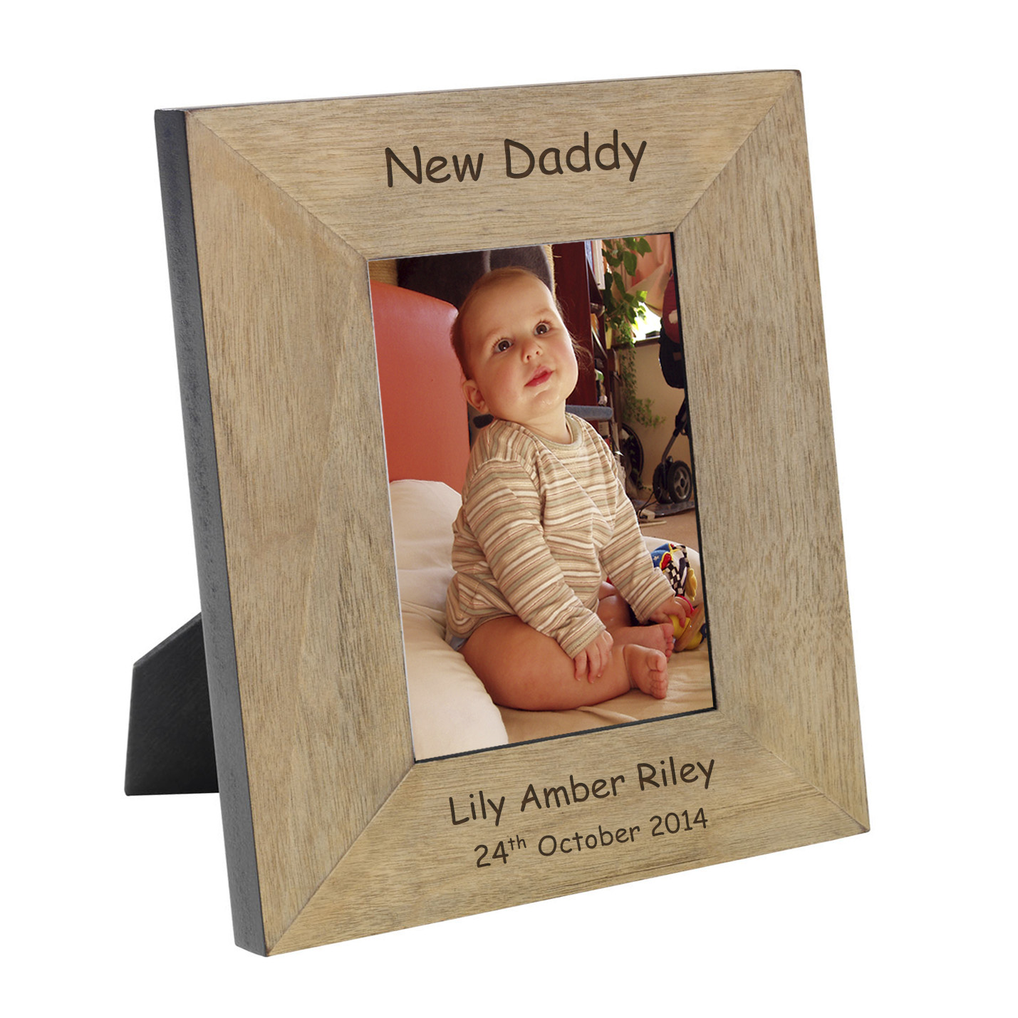 New Daddy Wood Frame A High Quality Finish Oak Veneer