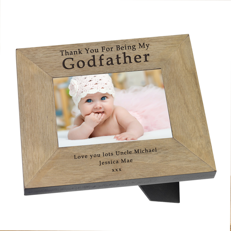Godfather Wood Frame 7x5