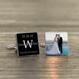 Forever & Always Photo Cufflinks