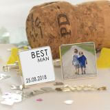 Wedding Party Role - Photo Cufflinks