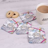 Favourite Place Set of 4 Coasters