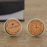 Dad of all the walks...special time cufflinks