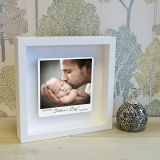 First Fathers Day Photo Upload Box Frame