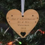 Wooden Hanging Decoration - Your Message