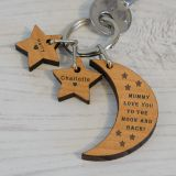Wooden Key Ring - ...LOVE YOU...