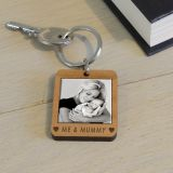 Wooden Key Ring - ME & ...