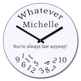 Whatever design wall clock
