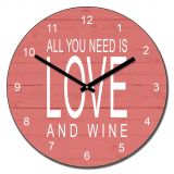 All you need is love and....wall clock