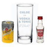 Vodka &Tonic O Clock gift set