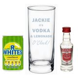 Vodka & Lemonade O Clock gift set