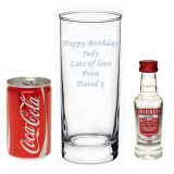 Vodka & Coke/Diet Coke Hi-ball gift set