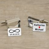 Envelope Cufflinks - You and Me
