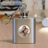 Photo Upload Hip Flask