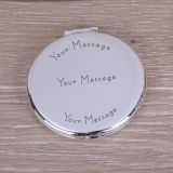 Round Compact Mirror Your Message