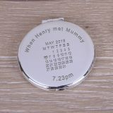 Round Compact Mirror When...met...