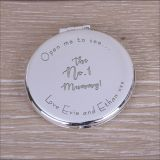 Round Compact Mirror The No.1...!