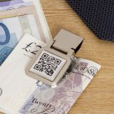 Secret Message QR Money Clip