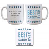 Mug and Coaster Gift Set - Best...