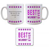 Mug and Coaster Gift Set - Best..