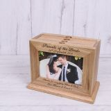Wooden Photo Album - Parents