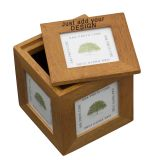 Oak Photo Cube - Own Design