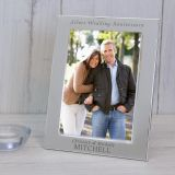 Silver Plated Frame Silver Wedding Anniversary