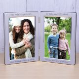 Silver Plated Double Frame - The only...