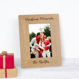 Christmas Memories Wood Frame 6x4