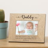 Daddy Wood Frame 6x4
