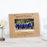 Special Teacher Wood Frame 6x4