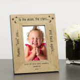 Wood Frame 7x5 Mummy love you...