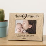 New Mummy Wood Frame 7x5