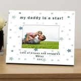 my.....is a star personalised photo frame