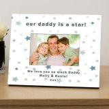 our .....is a star personalised photo frame