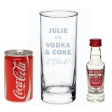 Vodka & Coke O Clock Gift Set