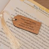 Wooden Bookmark - Your Message