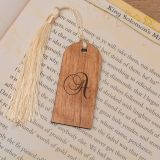 Wooden Bookmark - Initial